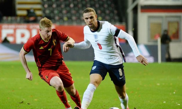 Jordan Henderson released from England squad