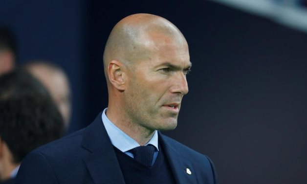 Real Madrid coach Zinedine Zidane, Reuters