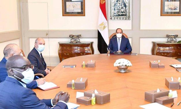 President Abdel Fattah El Sisi meets with Orange CEO Stéphane Richard – Presidency