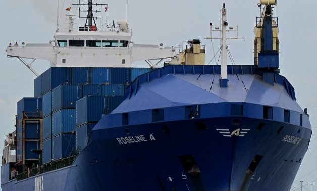 Turkish-flagged cargo ship, Roseline A - Reuters