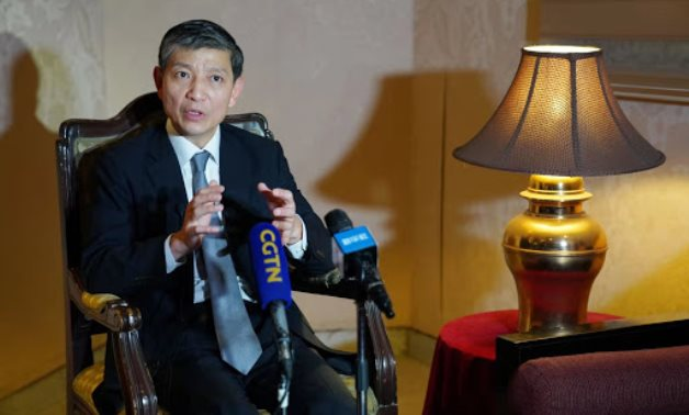 Chinese Ambassador to Cairo Liao Liqiang - photo via Chinese embassy's website