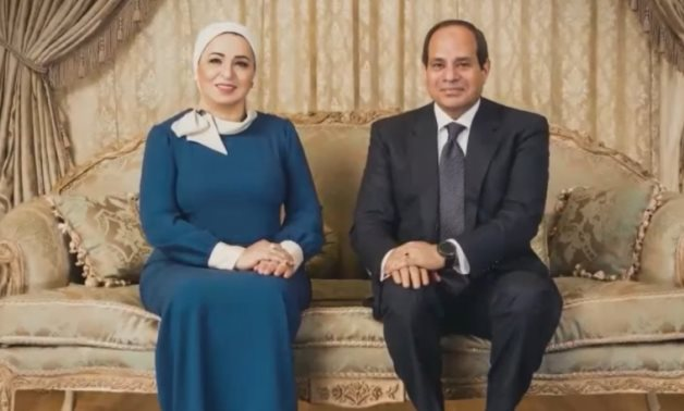 sisi in interview with issad younis