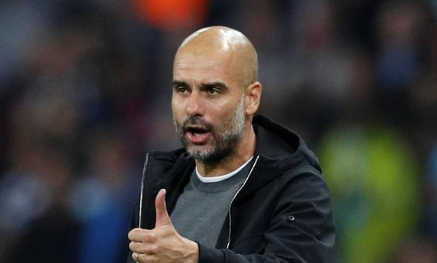 Manchester City manager Pep Guardiola, Reuters