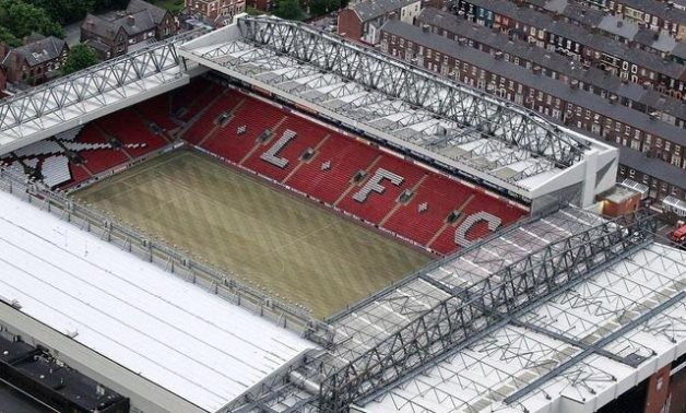 Empty Anfield, Reuters