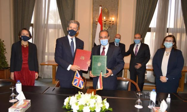 Egypt and the United Kingdom on Saturday have signed an association agreement to establish partnership and secure free trade - Egyptian Foreign Ministry