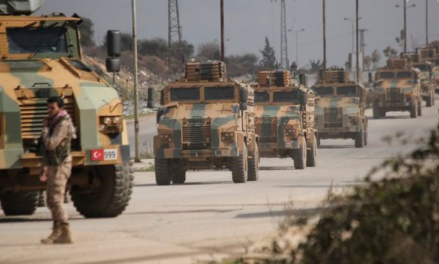 There has been an acceleration in the movement of Turkish military cargo flights to western Libya, amid information about Ankara's resumption of sending mercenaries. AP Photo