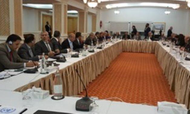 Libyan political dialogue meeting in Tunis