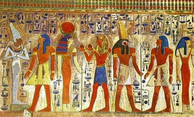 Some male and female costumes of ancient Egypt - ET
