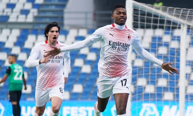 AC Milan's Leao scores fastest-ever Serie A goal after six seconds