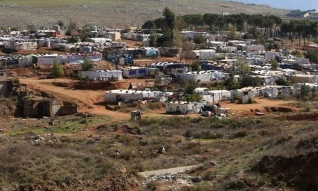 FILE – Syrian refugees' camp in Syria – Reuters
