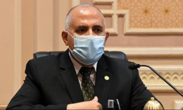 FILE - Minister of Irrigation and Water Resources Mohamed Abdel Aty