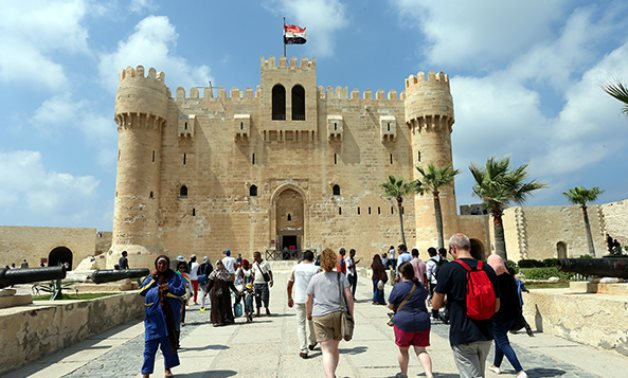 FILE - Citadel of Qaitbay