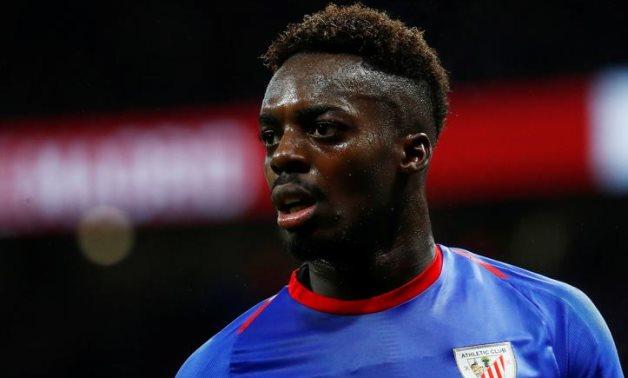 Athletic Bilbao striker Inaki Williams, Reuters