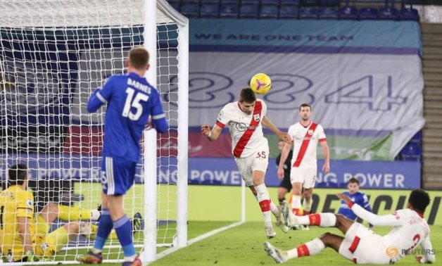 Leicester go second with 2-0 win over Southampton