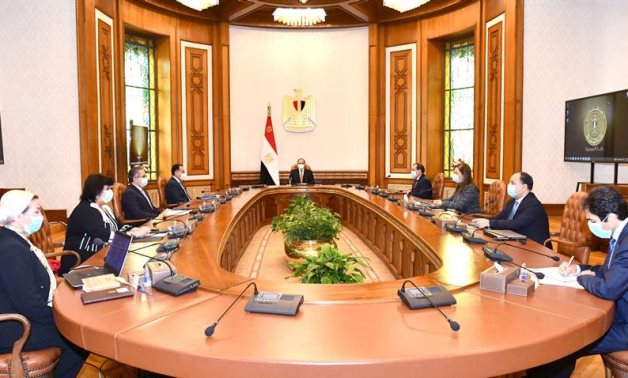 Sisi's remarks came in a meeting with Prime Minister Mostafa Madbouli and a number of ministers - Presidency