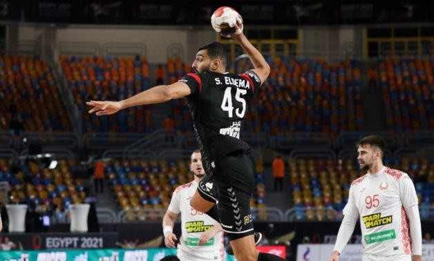 File- Egypt defeated Belarus to take a big step towards the quarter-finals