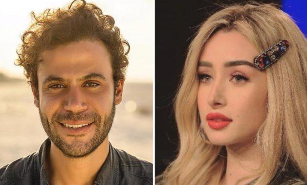 File: Mohamed Emam and Hannah el Zahed.