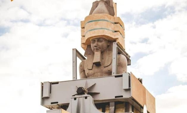 File: The statue of Rameses II.