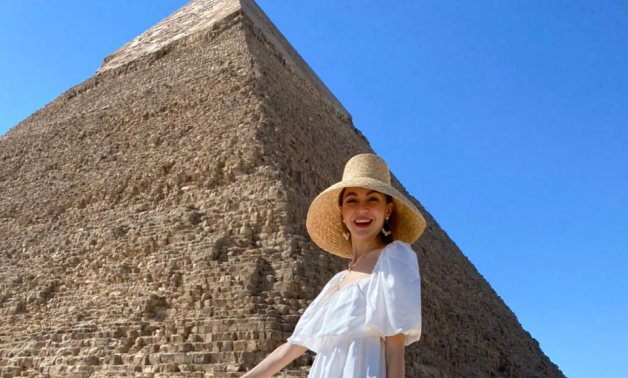 The Ukrainian blogger who visited Egypt - Min. of Tourism & Antiquities
