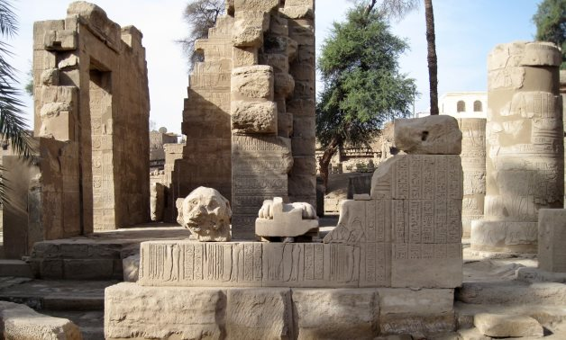 Al Tood Temple dedicated to ancient Egyptian God of War Montu – Wikimedia Commons