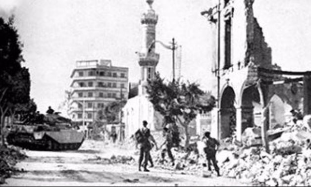 Destruction in one of Egypt's cities during the war with Israel - Social media