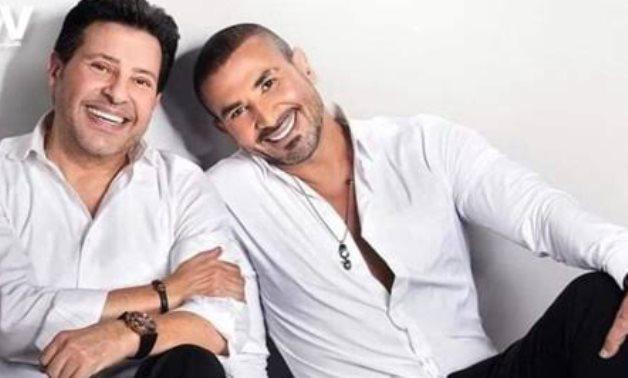 File: Hany Shaker and Ahmed Saad.