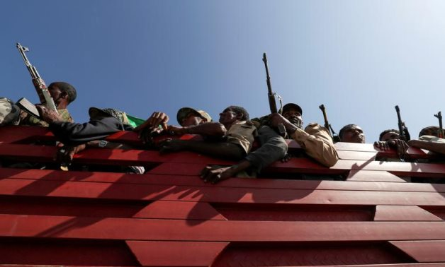 Forces fighting in Tigray in Ethiopia - REUTERS