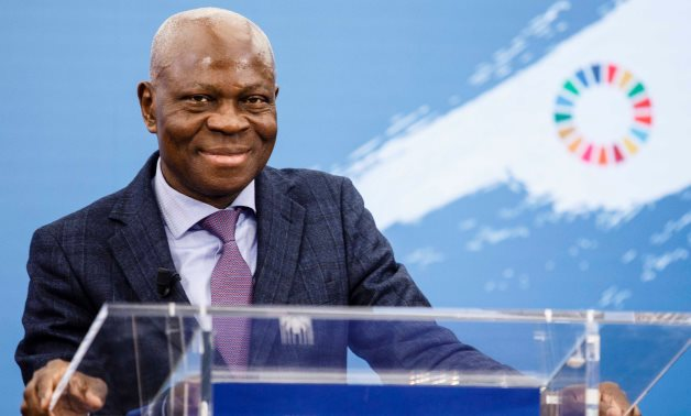 President of the International Fund for Agricultural Development (IFAD) Gilbert F. Houngbo was reappointed for a second four-year term- press photo