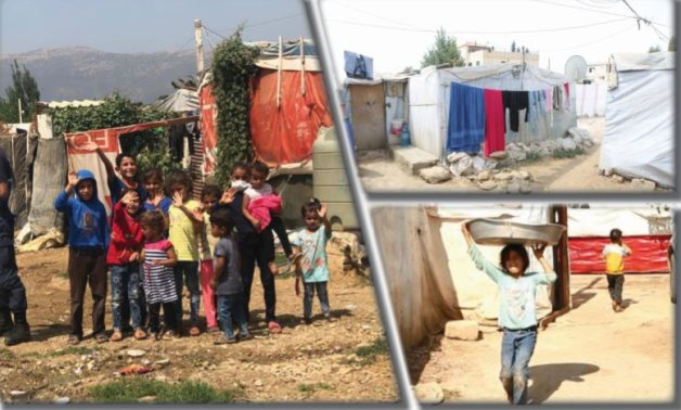 """Egypt today"" in Refugee and IDP camps in Lebanon"