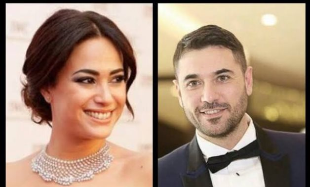 File: Ahmed Ezz and Hend Sabry.