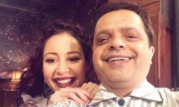 File: Mohamed Henedy and Menna Shalaby.
