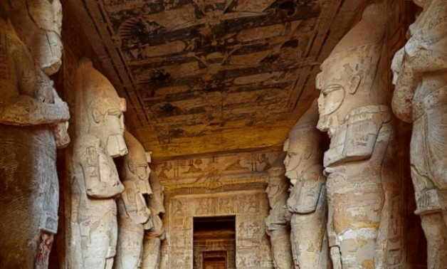 Inside the Temple of Abu Simbel - Picture from video