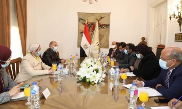 Part of the meeting - Press photo