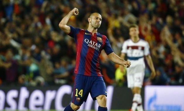 Barcelona former defender Javier Mascherano, Reuters