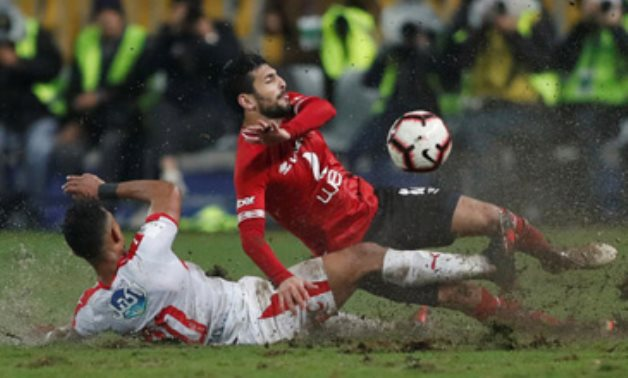 File- Cairo Derby between Al Ahly and Zamalek