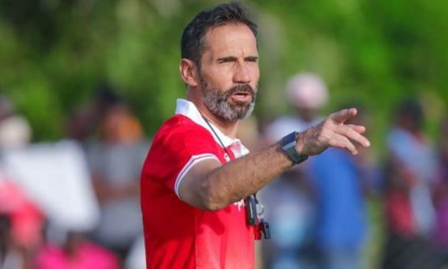 File- Simba head coach Didier Gomes