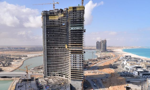 New Alamein towers - FILE