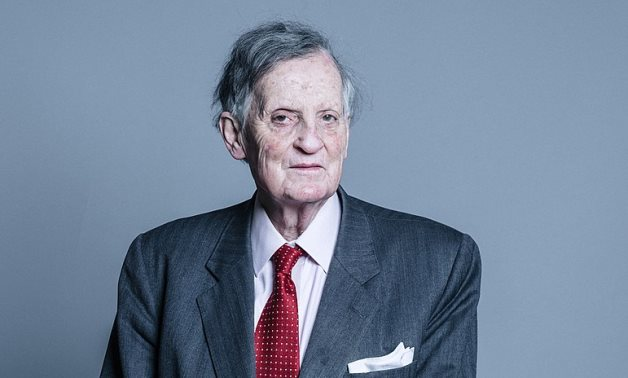 Conservative Life peer Lord Marlesford of the House of Lords - Official portrait