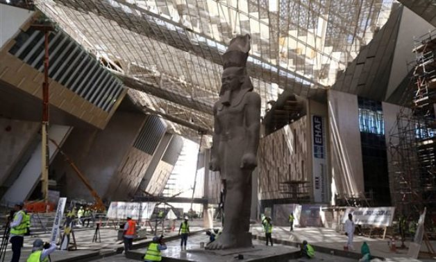 FILE - Grand Egyptian Museum