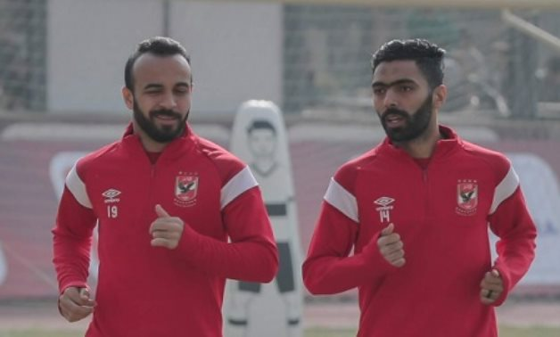 File- Mohamed Magdy Afsha and Hussein El Shahat