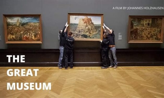 """""""The Great Museum"""" documentary film for Johannes Holzhausen - Screenshot from video"""