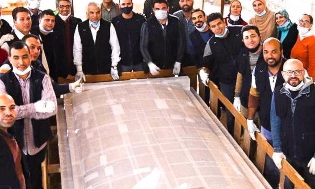 File: Egypt's Grand Egyptian Museum received the fourth shrine of King Tutankhamun's collection.