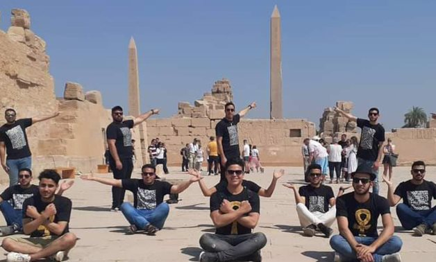 During the trip to Luxor - Min. of Tourism & Antiquities