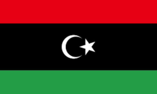 FILE – Libyan flag