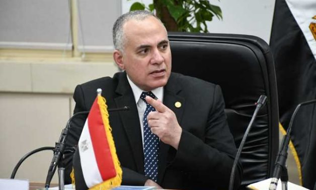 FILE – Minister of Irrigation and Water Resources Mohamed Abdel Aty