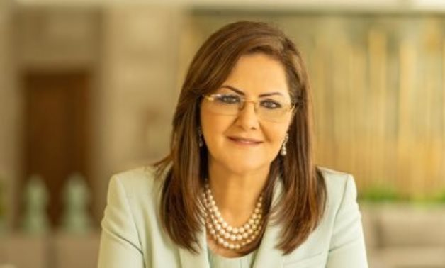 FILE - Minister of Planning and Economic Development Hala al-Said