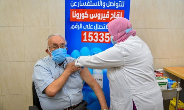 Egypt's Health Minister Hala Zayed said 1,141 citizens have received the first coronavirus vaccine dose on Thursday – Health Ministry