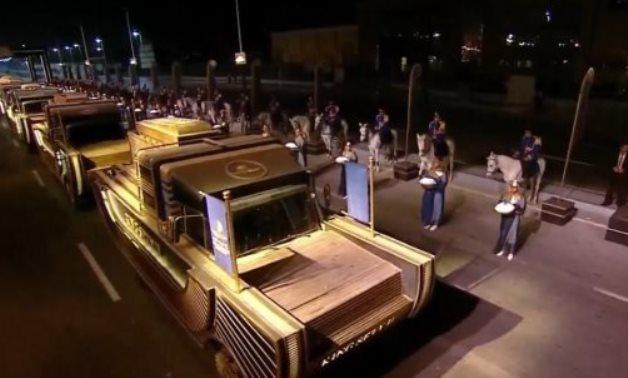 File: Pharaohs Golden Parade.