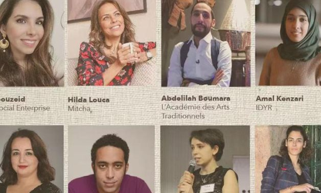 First English-Run Webinar on Sustainable Fashion from North Africa- press photo