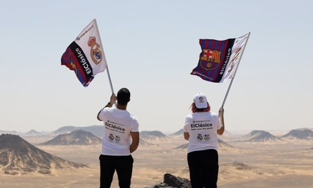LaLiga fans enjoy the beauty of the Egyptian desert, Source: LaLiga